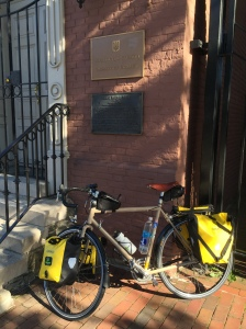 My bike tried to visit Ukraine.