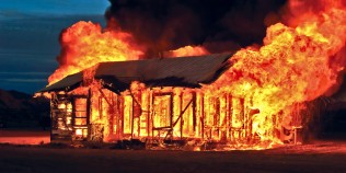 burn-house